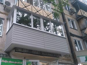 Балкон под ключ Харькове